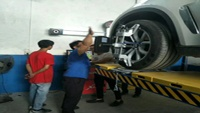 LAUNCH X-831E Wheel alignment