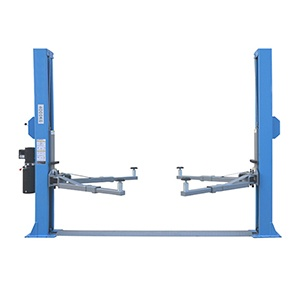 JLY-C240W CE floor type two post car lift for cars manual operation car lifting machine