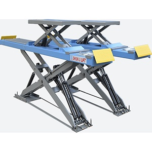 CD3532TC CE Ultra thin 3500kg scissor lift for wheel alignment